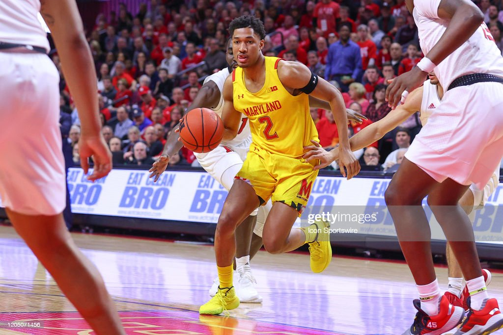 COLLEGE BASKETBALL: MAR 03 Maryland at Rutgers : ニュース写真