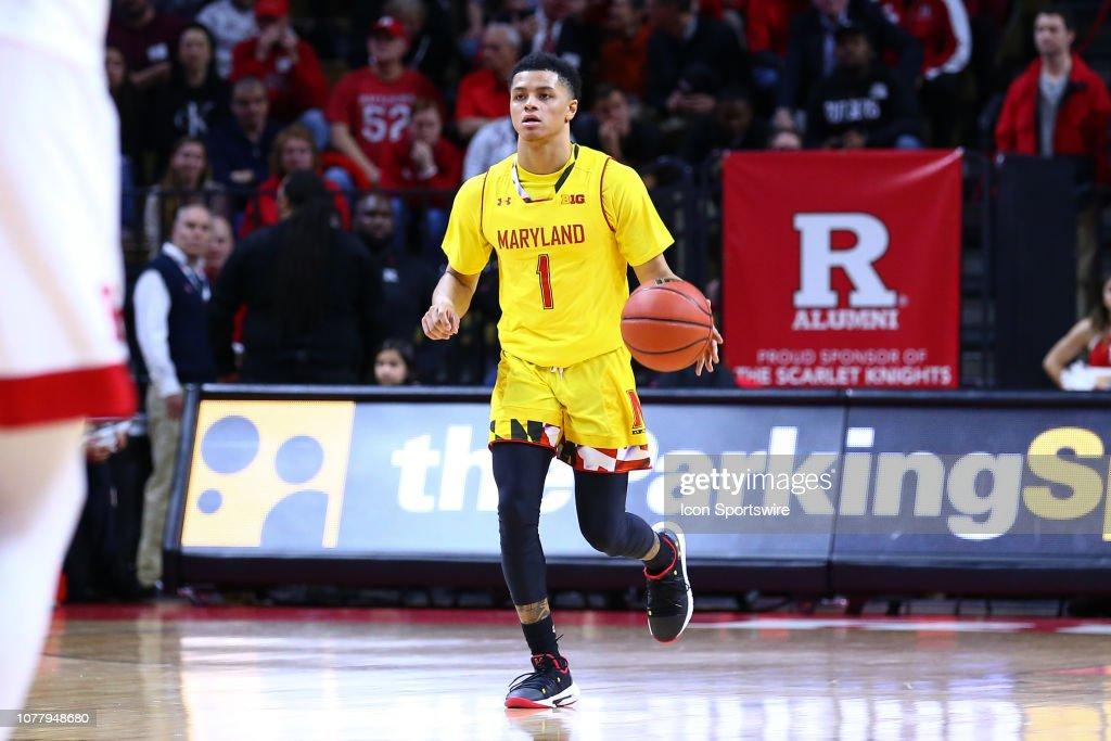 COLLEGE BASKETBALL: JAN 05 Maryland at Rutgers : News Photo