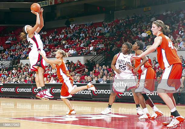 Maryland women defeated Clemson in a blow out 8963 at Comcast Center at the University of Maryland College Park on February 23 2006 Maryland freshman...