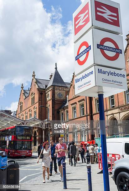 Marylebone train station, London