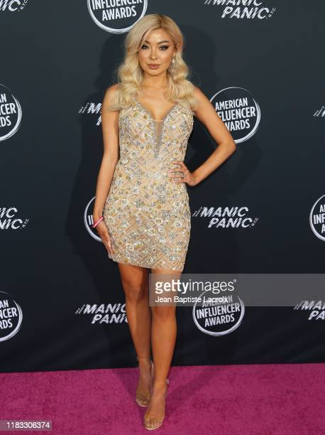 Marylia Scott attends the 2nd Annual American Influencer Awards at Dolby Theatre on November 18 2019 in Hollywood California