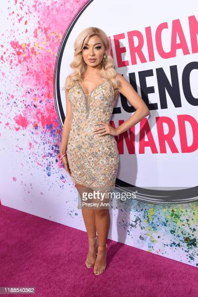 Marylia Scott attends the 2nd Annual American Influencer Awards at Dolby Theatre on November 18, 2019 in Hollywood, California.