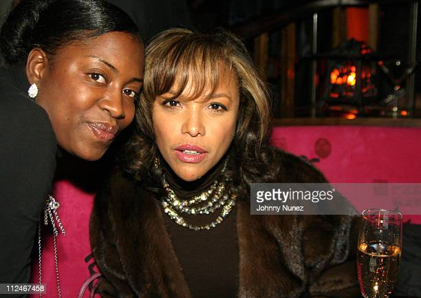Marylin and Lynn Whitfield during Raphael Saadiq Live Performace at Maritime Hotel in New York City New York United States