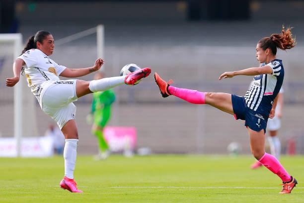 MEX: Pumas UNAM v Monterrey - Torneo Grita Mexico A21 Liga MX Femenil