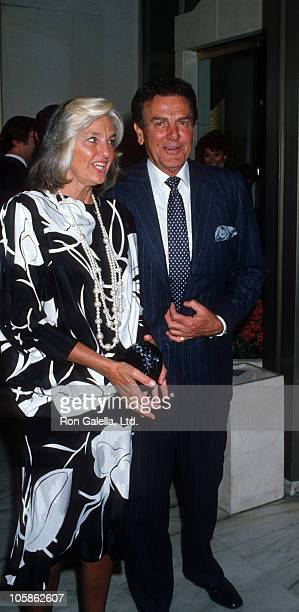 Marylou Connors and Mike Connors during ABC TV Affiliates Fall Launch at Century Plaza Hotel in Los Angeles CA United States