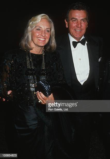 Marylou Connors and Mike Connors during American Jewish Commitee Honors Merv Adelson at Beverly Wilshire Hotel in Beverly Hills California United...