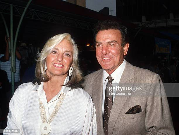 Marylou Connors and Mike Connors during Crocodile Dundee II Los Angeles Premiere at Mann's Chinese Theater in Hollywood California United States