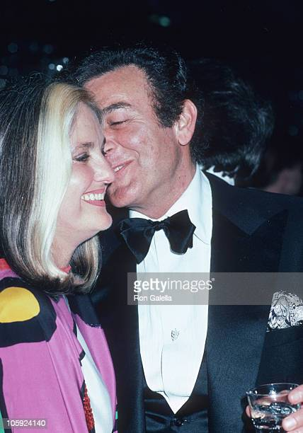Marylou Connors and Mike Connors during Frank Sinatra's Gala His Friends and His Food February 15 1980 at Canyon Hotel in Palm Springs California...
