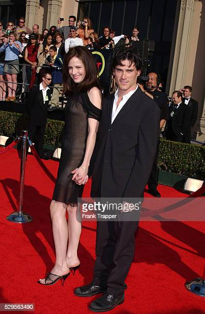 Mary-Louise Parker and Billy Crudup arriving at the 9th Annual Screen Actors Guild Awards.