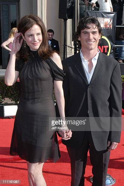MaryLouise Parker and Billy Crudup during 9th Annual Screen Actors Guild Awards Arrivals at The Shrine Auditorium in Los Angeles California United...