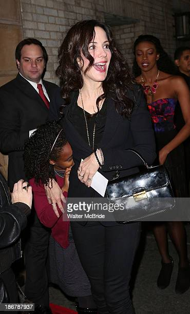 MaryLouise Parker and daughter Caroline Aberash Parker attends the After Midnight Broadway Opening Night at the Brooks Atkinson Theatre on November 3...