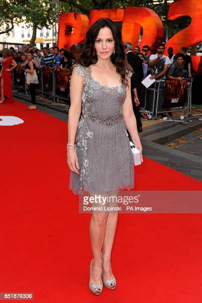 MaryLouise Parker arriving at the UK Premiere of Red 2 at the Empire Leicester Square cinema in London