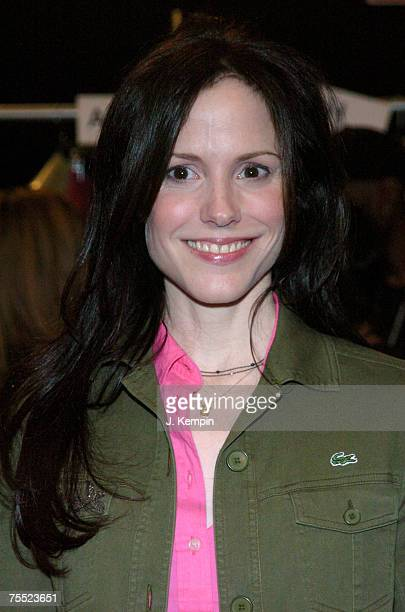 MaryLouise Parker at the Olympus Fashion Week Fall 2006 LaCoste Front Row and Backstage at Bryant Park in New York New York