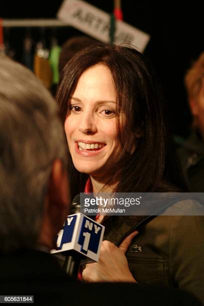 MaryLouise Parker attends Lacoste Fall 2006 Fashion Show at The Tent at Bryant Park on February 4 2006 in New York