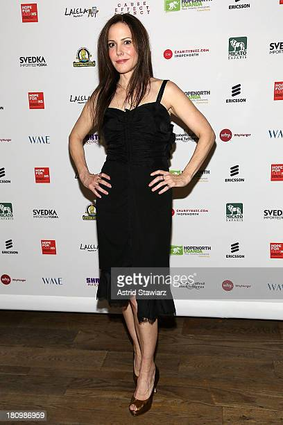 Mary-Louise Parker attends The Inaugural Hope North Gala at City Winery on September 18, 2013 in New York City.