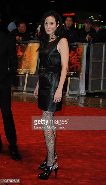 MaryLouise Parker attends the 'Red' premiere at the Royal Festival Hall on October 19 2010 in London England