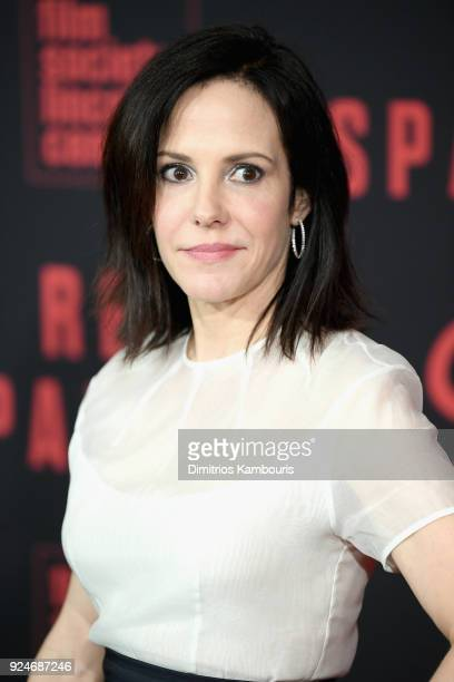 MaryLouise Parker attends the Red Sparrow New York Premiere at Alice Tully Hall on February 26 2018 in New York City