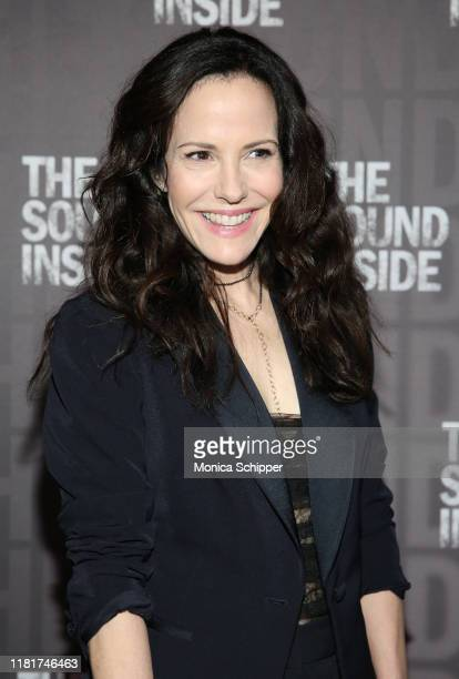 MaryLouise Parker attends The Sound Inside opening night at Studio 54 on October 17 2019 in New York City