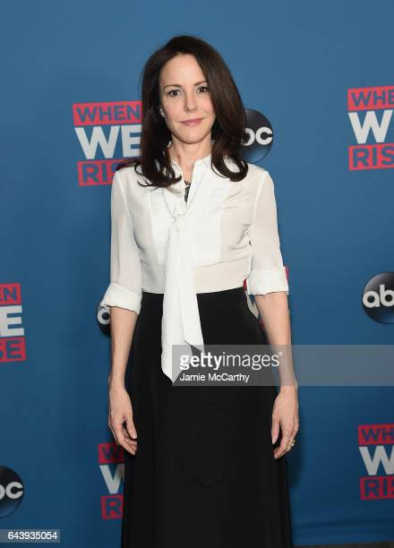 MaryLouise Parker attends the When We Rise New York Screening Event at The Metrograph on February 22 2017 in New York City