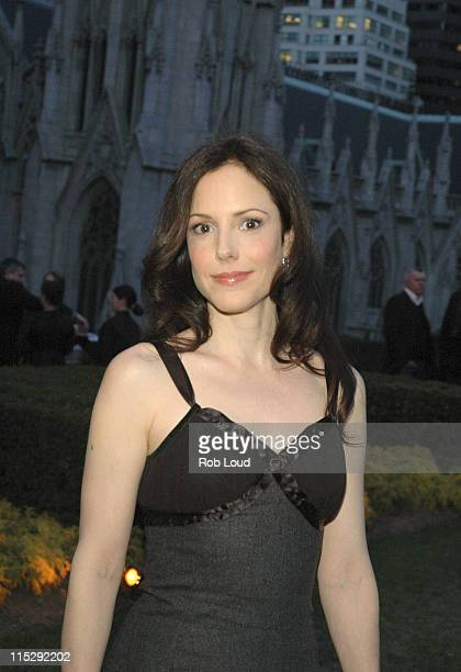 MaryLouise Parker during 2006 CFDA Nominee and Honoree Announcement Cocktail Party at The Rooftop Gardens at Rockefeller Center in New York City New...