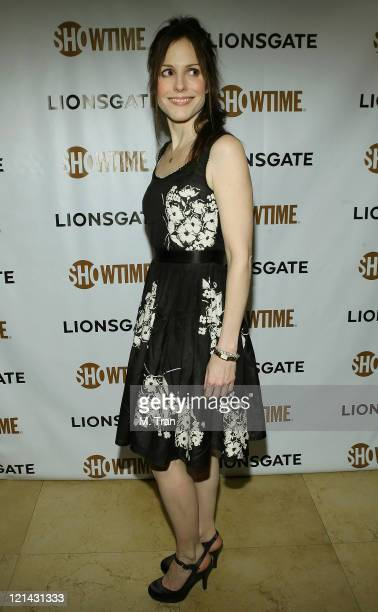 MaryLouise Parker during Showtime and Lionsgate PreGolden Globe Celebration at The Sunset Tower Hotel in West Hollywood California United States
