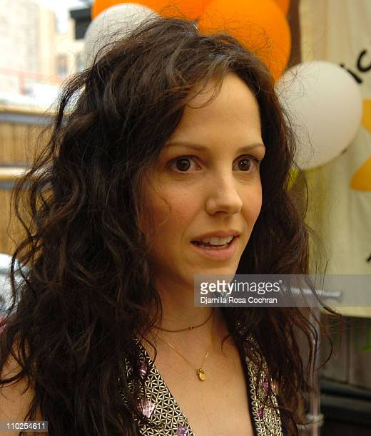 MaryLouise Parker during TBoz Life Style Weekly Make A Wish Foundation Present Chase's Closet Launch at The Park in New York City New York United...