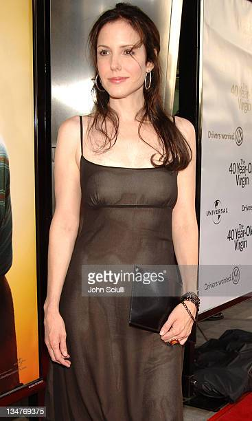 MaryLouise Parker during The 40YearOld Virgin Los Angeles Premiere Red Carpet at Arclight Hollywood in Los Angeles California United States
