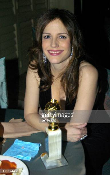 MaryLouise Parker during The 61st Annual Golden Globe Awards HBO After Party at Griff's Restaurant in Beverly Hills California United States