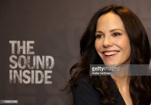 MaryLouise Parker during the Press Preview Photo Call for The Sound Inside at Studio 54 on September 20 2019 in New York City