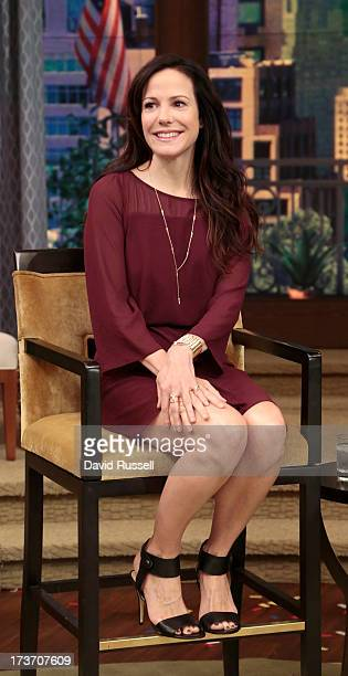 MICHAEL 7/16/13 MaryLouise Parker is a guest on LIVE with Kelly and Michael distributed by DisneyWalt Disney Television via Getty Images Domestic...