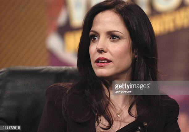 MaryLouise Parker of Weeds during Showtime TCA Day at Universal Hilton in Los Angeles California United States