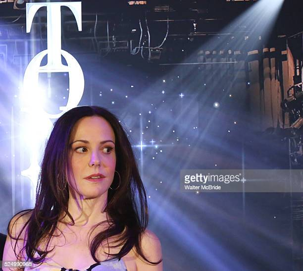 Mary-Louise Parker onstage at the 2015 Tony Awards Nominations Announcement at the Diamond Horseshoe at the Paramount Hotel on April 28, 2015 in New...