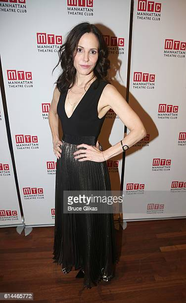 MaryLouise Parker poses at The Opening Night After Party for Heisenberg on Broadway at The Copacabana on October 13 2016 in New York City