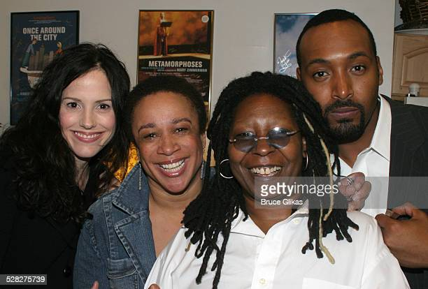 Mary-Louise Parker, S. Epatha Merkerson, Whoopi Goldberg and Jessie L. Martin *Exclusive Coverage*