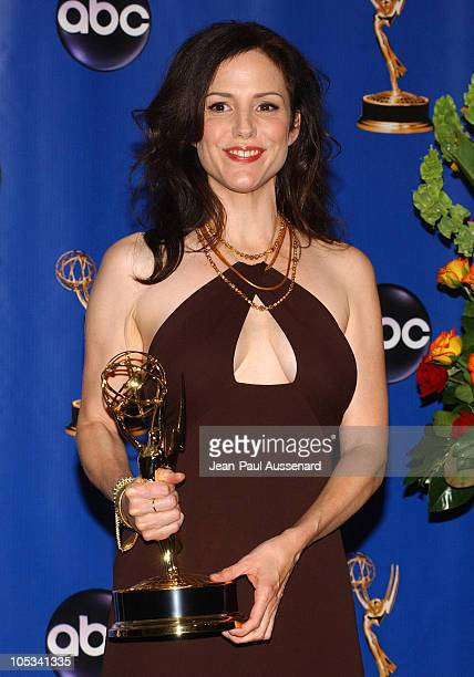MaryLouise Parker winner of Outstanding Supporting Actress in a Miniseries or a Movie for Angels in America