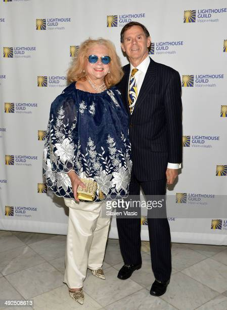 Marylyn Malkin and David Malkin attend the 2014 POSH Affair at The Metropolitan Club on May 20 2014 in New York City