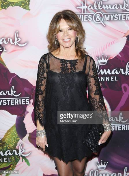 MaryMargaret Humes arrives to the Hallmark Channel and Hallmark Movies and Mysteries Winter 2018 TCA Press Tour held at Tournament House on January...