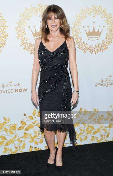 MaryMargaret Humes attends Hallmark Channel And Hallmark Movies And Mysteries 2019 Winter TCA Tour at Tournament House on February 09 2019 in...
