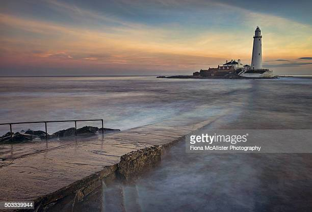 mary's way - northumberland stock pictures, royalty-free photos & images