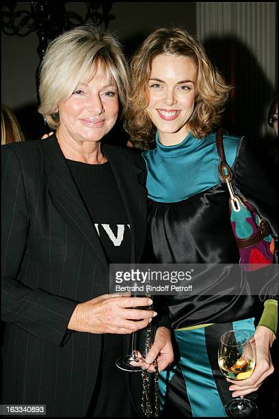 Maryse and Julie Andrieu at The Second Series Of Des Trois Coups De L' Angelus At Restaurant Apicius