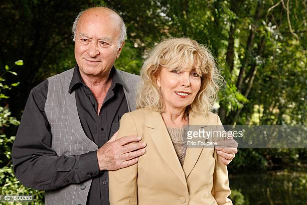 Maryse et GEORGES WOLINSKI Photographed in PARIS