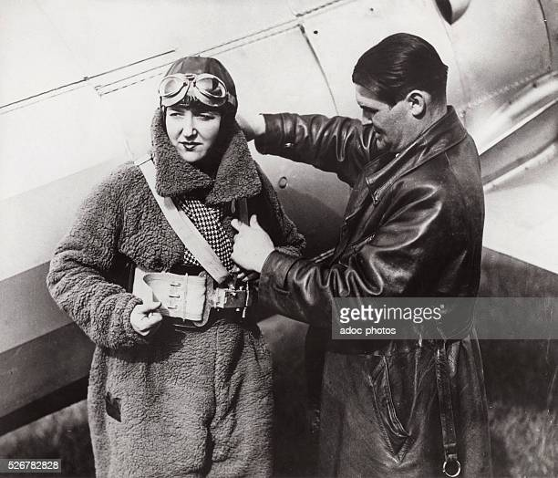 Maryse Hilsz French aviator Ca 1930