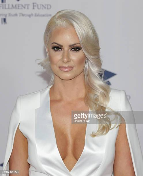 Maryse Mizanin attends the 22nd Fulfillment Fund Stars Benefit Gala Arrivals at The Globe Theatre at Universal Studios on November 2 2016 in...