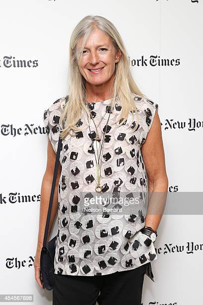 Marysia Woroniecka attends the New York Times Vanessa Friedman and Alexandra Jacobs welcome party on September 3 2014 in New York City