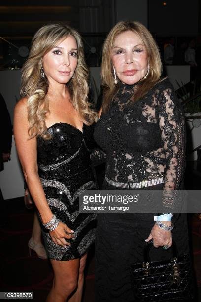 Marysol Patton and her mother Elsa Patton attend The Real Housewives of Miami Premiere Party at Eden Roc a Renaissance Beach Resort and Spa on...