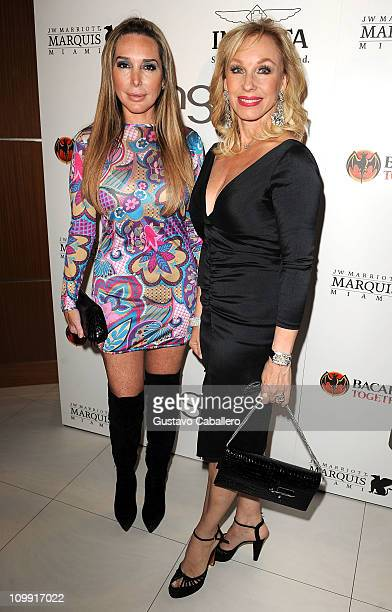 Marysol Patton and Leah Black attends Ocean Drive Magazine Eighteenth Anniversary event at JW Marriott on March 9 2011 in Miami Florida