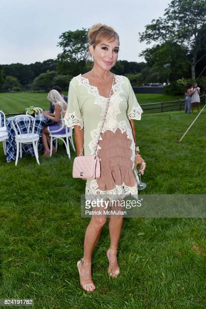 Marysol Patton attends Alzheimer's Association Hosts Rita Hayworth Gala Hamptons Kickoff Event at Private Residence on July 28 2017 in Water Mill New...