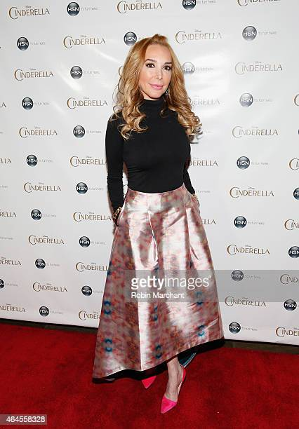 Marysol Patton attends Cinderalla New York Special Screening And Modern Princess Clothing Line Preview at Tribeca Grand Hotel on February 26 2015 in...