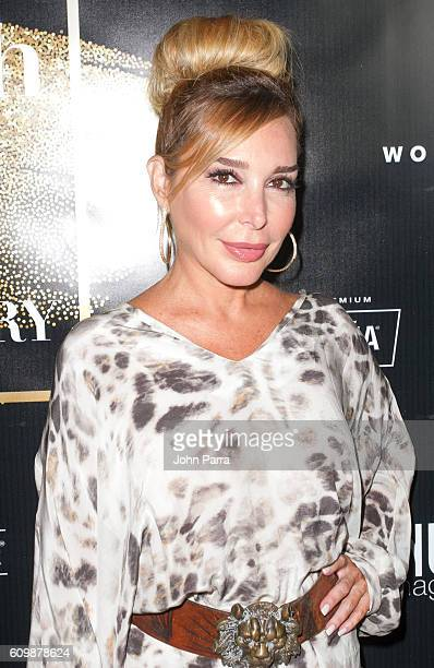 Marysol Patton attends Venue Magazine's Sept/Oct 2016 Cover Party With Chino y Nacho on September 22 2016 in Miami Florida