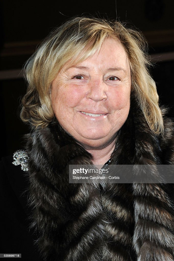 Maryvonne Pinault attends the Stella McCartney Ready To Wear show, as part of the Paris Fashion Week Fall/Winter 2010-2011.